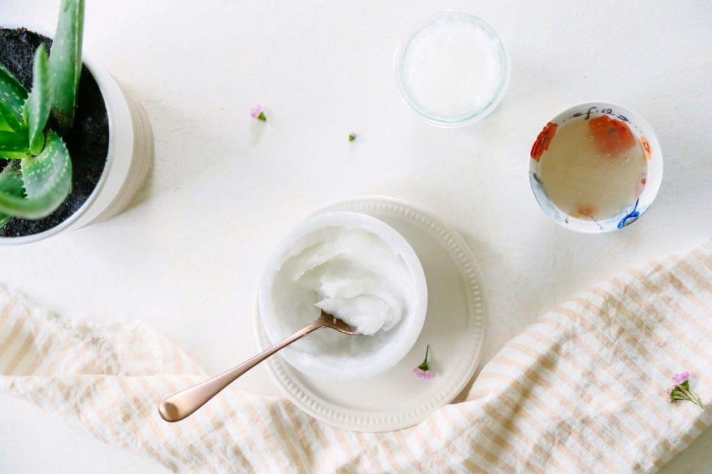Recette crème Hydratante Aloé Véra et huile de coco